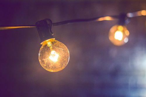 blur bright bulb