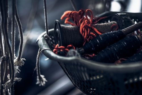 blur tray yarn