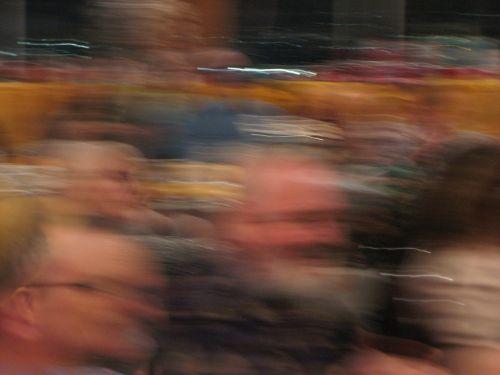 Blur Of People