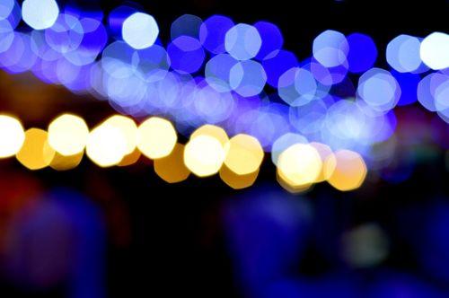 blurred bokeh bright