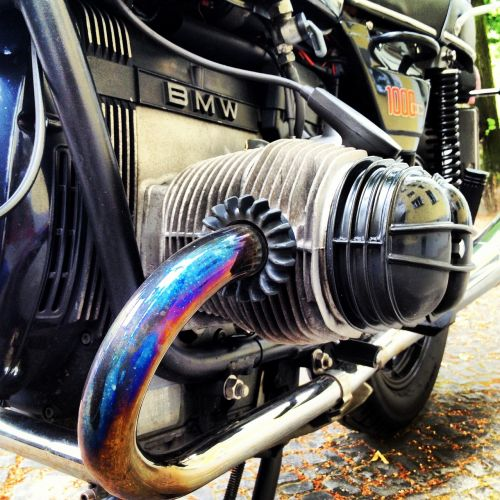 bmw motorcycle exhaust