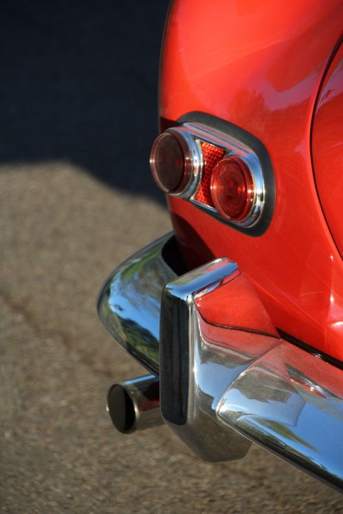 bmw 507 lighting in the back