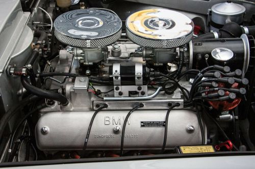 bmw engine compartment two seater roadster