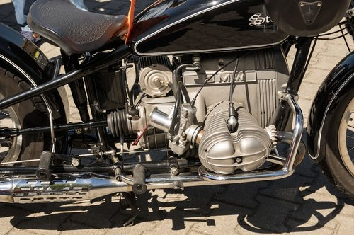 bmw  motorcycle  boxer engine