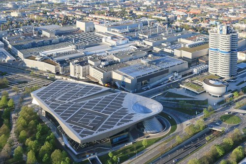 bmw  museum  factory