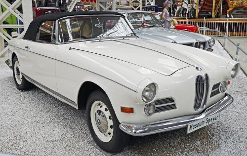bmw 503 cabrio museum exhibition