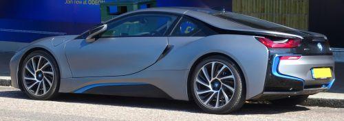 BMW I8 Car Side Rear