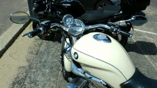 BMW R1200 Motorcycle Handlebars