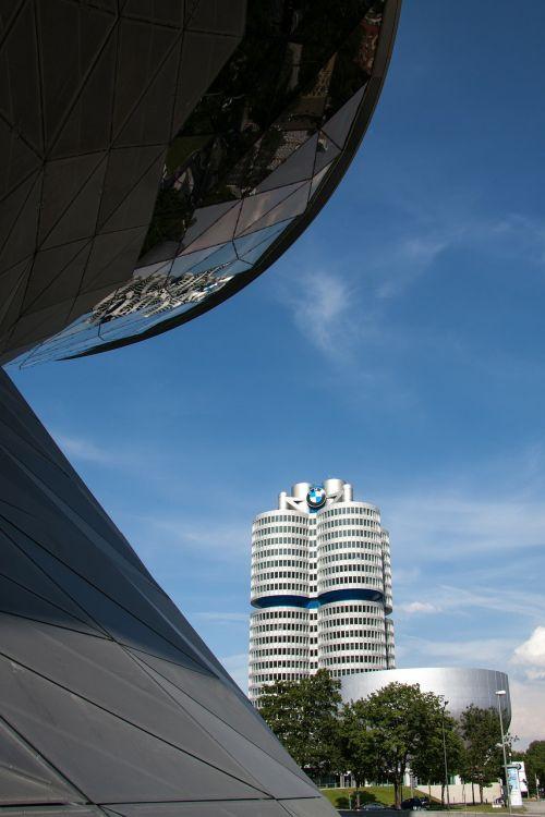 bmw world bmw tower munich