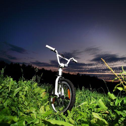 bmx biker bike