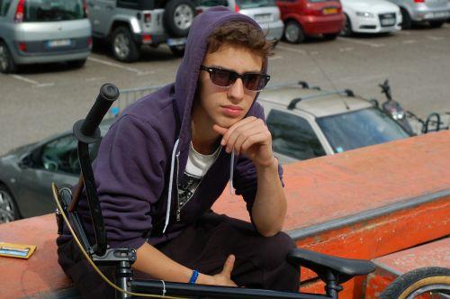 bmx boy teenager