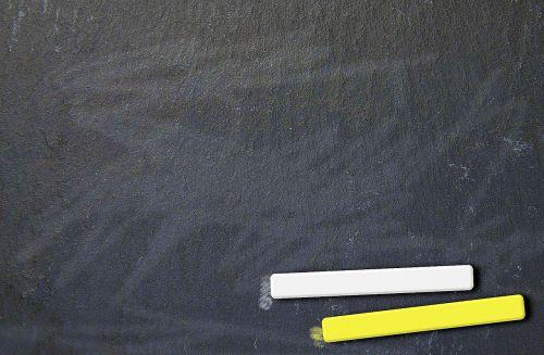 board chalk leave