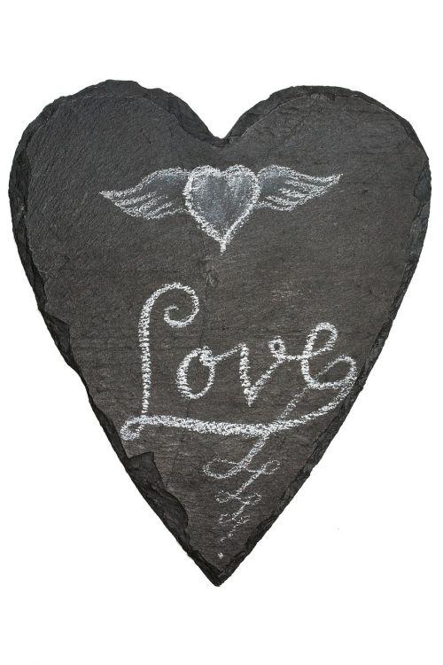 board slate heart