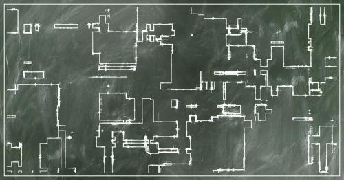 board sketch floor plan