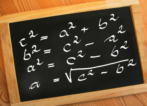 board chalk mathematics