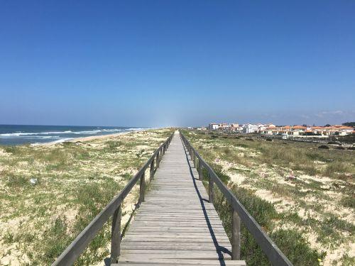 boardwalk portugal coastal path