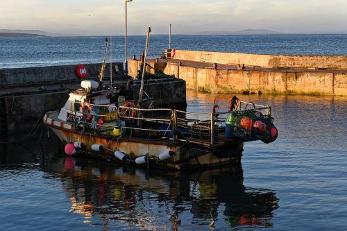 boat fishing boat harbor