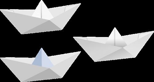 boat fold folded