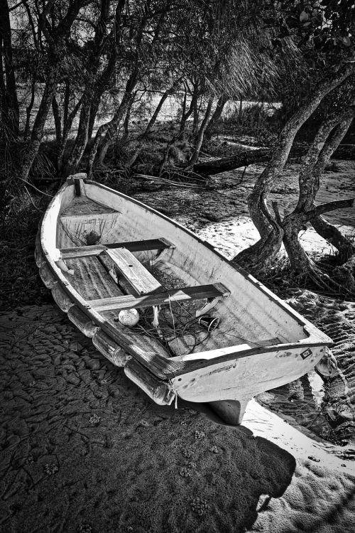 boat rowboat fishing