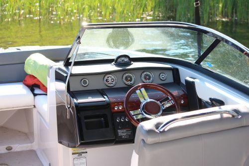 boat cockpit wheel