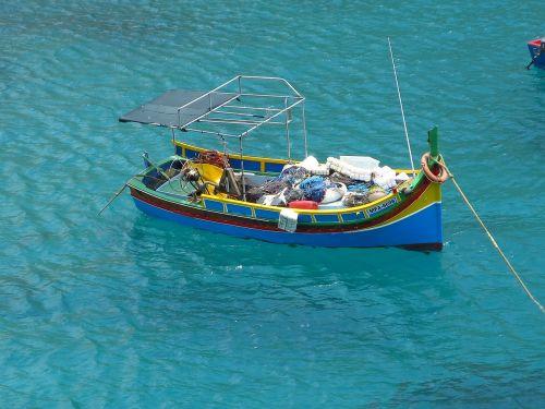 boat sea malta