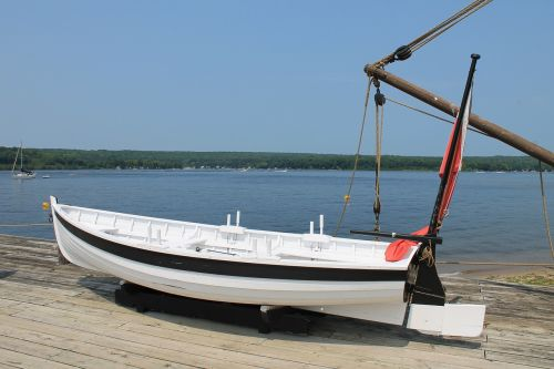 boat wood boat fishing boat