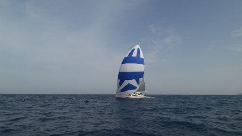 boat sail sea