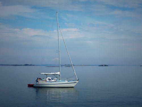 boat sailboat sea