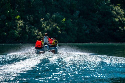 boat rhône river