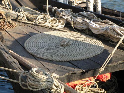 boat rope navigation
