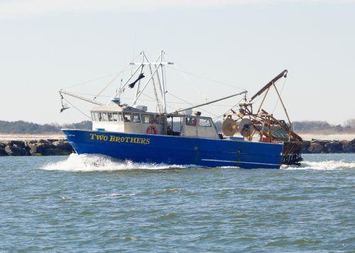 boat fishing fishing boat