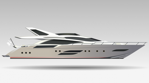 boat yacht realistic
