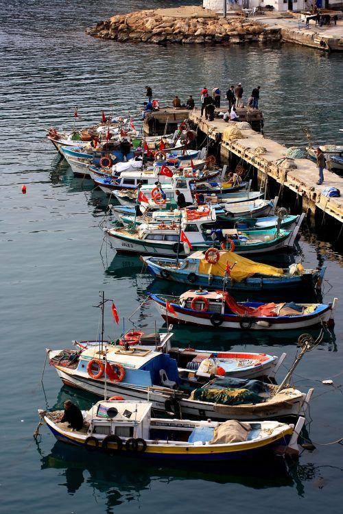 boat landscape fisherman