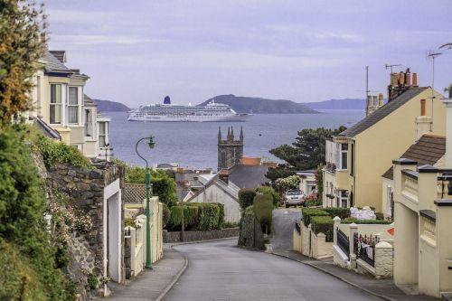 boat views guernsey