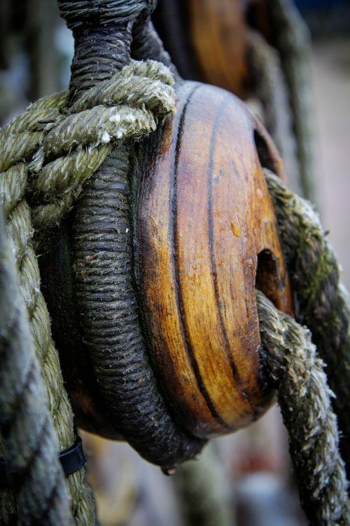 boat rigging rope