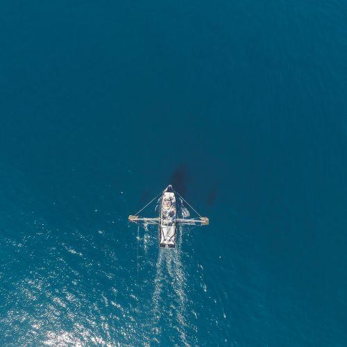 boat ocean sea