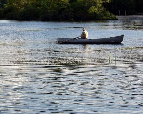 boat rowing rowboat