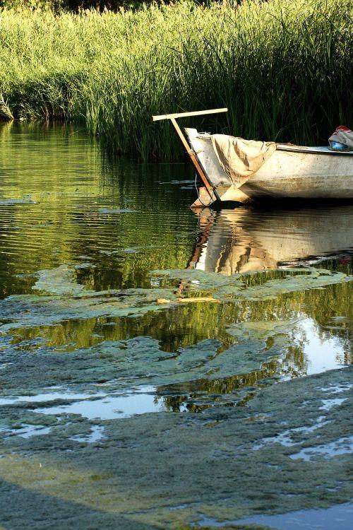 boat river lake