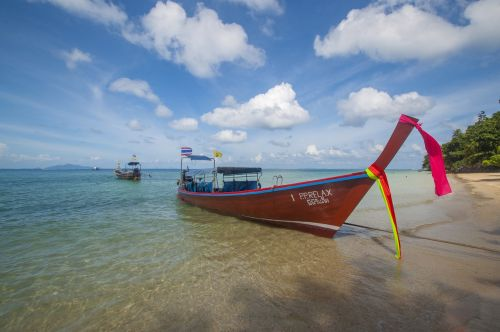 boat thailand long
