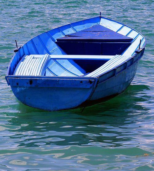 boat blue pleasure