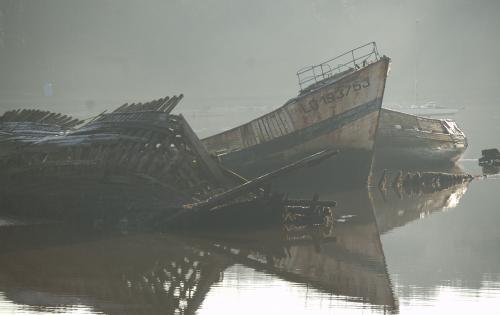 boat wreck stranding