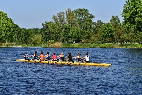 boat  shell  rowing