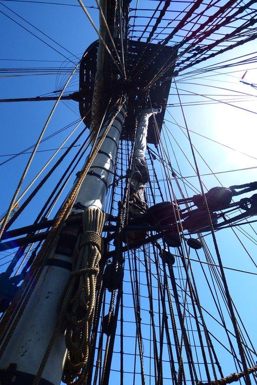 boat  sailing  rope