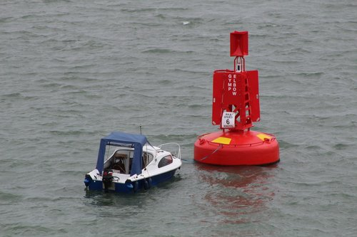 boat  buoy  sea