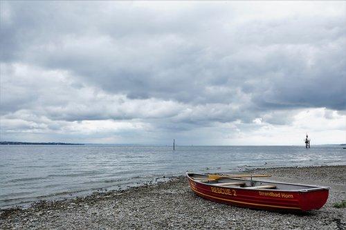 boat  lake  lake constance