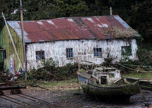 boat  yard  wreck
