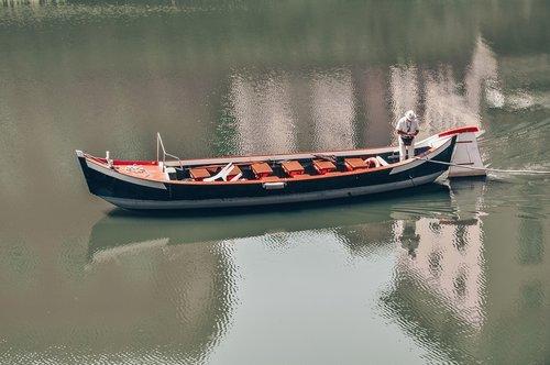 boat  steering  river