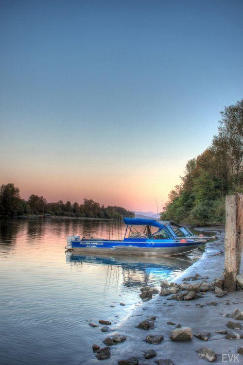 boat fraser river