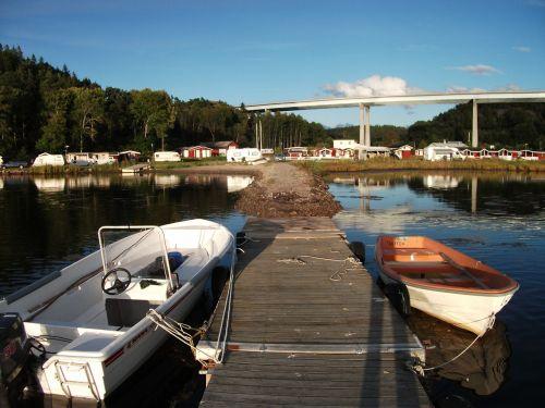 boat wharf lake