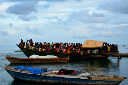 boat tanzania fishers